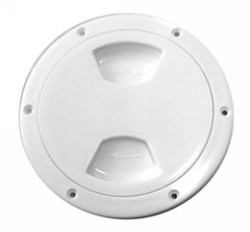 ABS 4 Inch White Inspection Plate