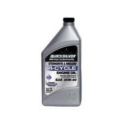 Quicksilver 4-Cycle Inboard & Sterndrive Engine Oil - 1 litre