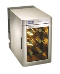 Wine Cooler 6 Bottle Glass Fronted