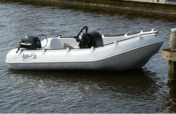 Whaly 370 safety boat